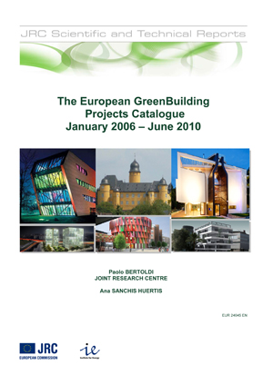 The European GreenBuilding  Projects Catalogue, January 2006 – June 2010
